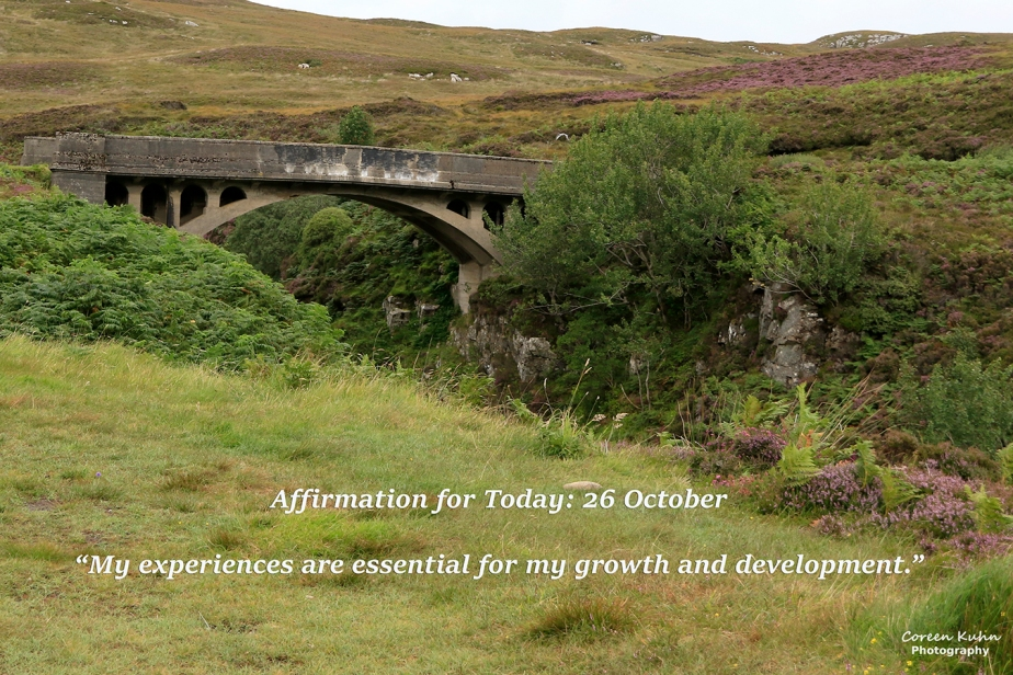 Affirmation for Today: 26 October2021