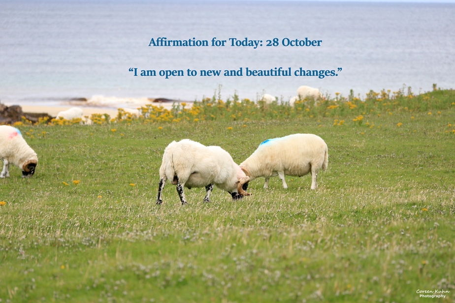 Affirmation for Today: 28 October2021