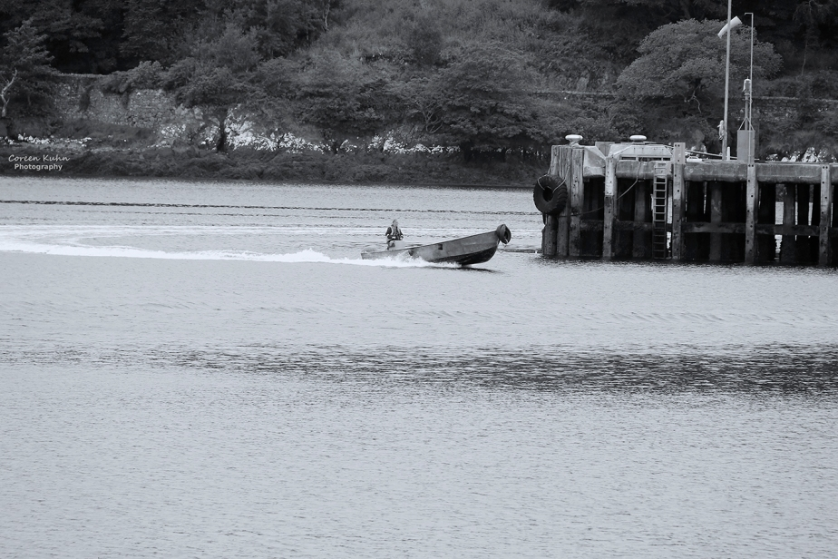 Black and White Photography: Stornoway#7